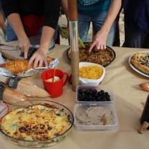 Déjeuner entre amapiens d'Ivry et de Bagnolet - septembre 2017